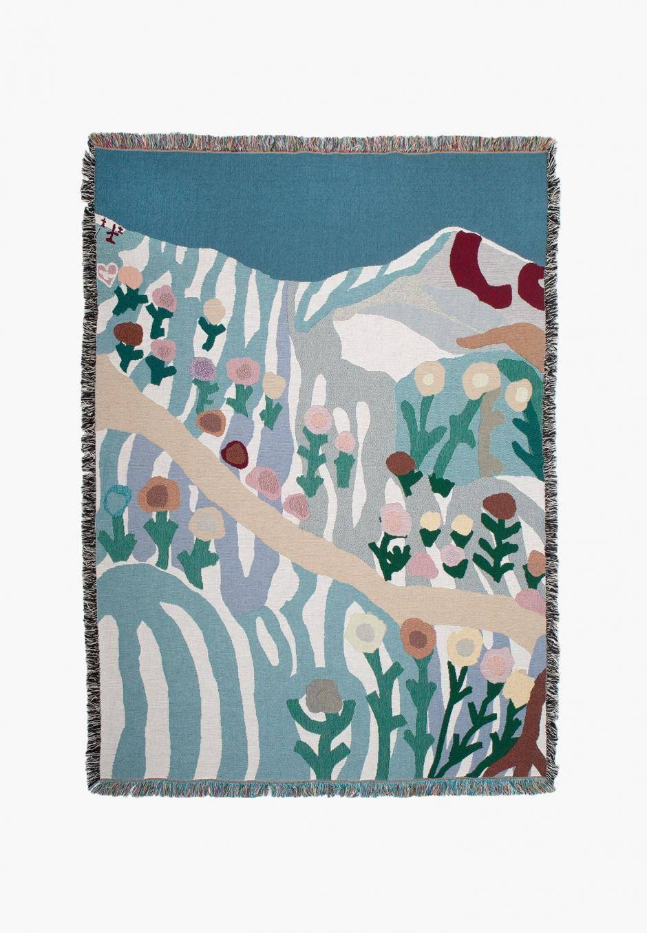 Slowdown Studio Leonard Throw - Suzie Leahy