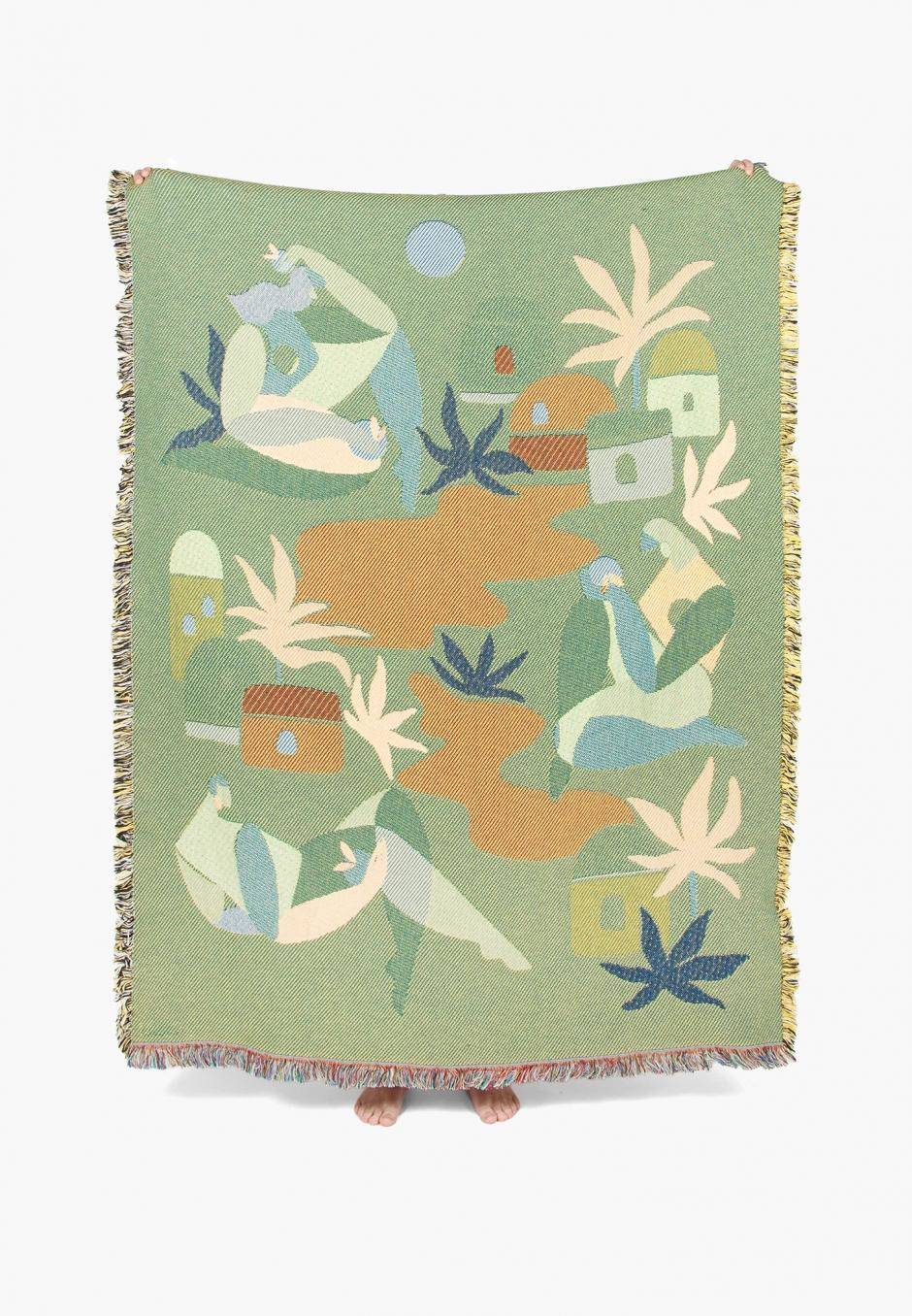 Slowdown Studio Ayers Throw - Maggie Stephenson