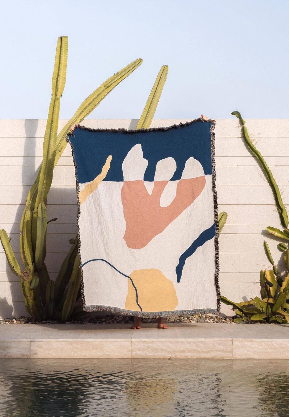 Slowdown Studio Franklin Throw - Paulina Cáceres