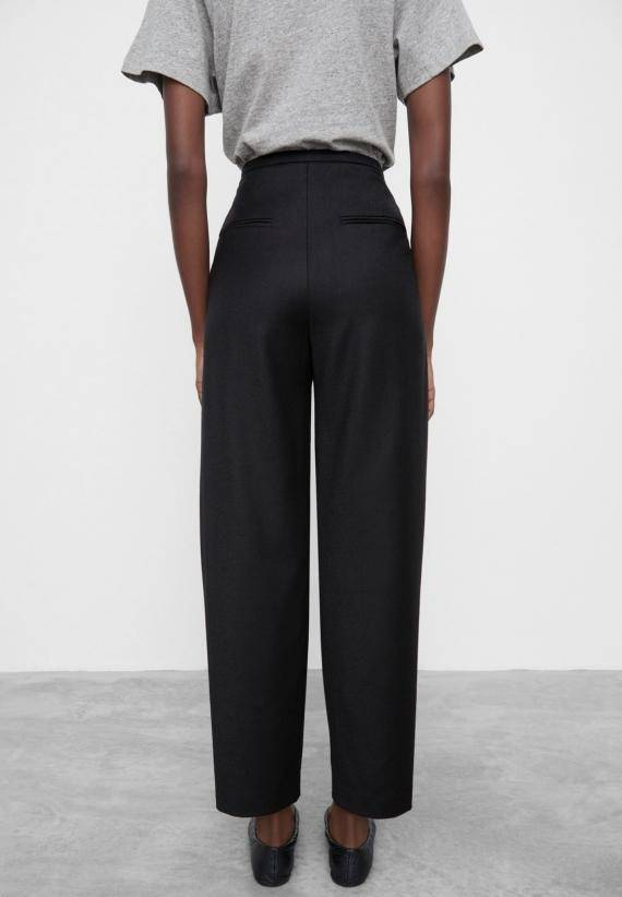 Totême Wool Flannel Trousers