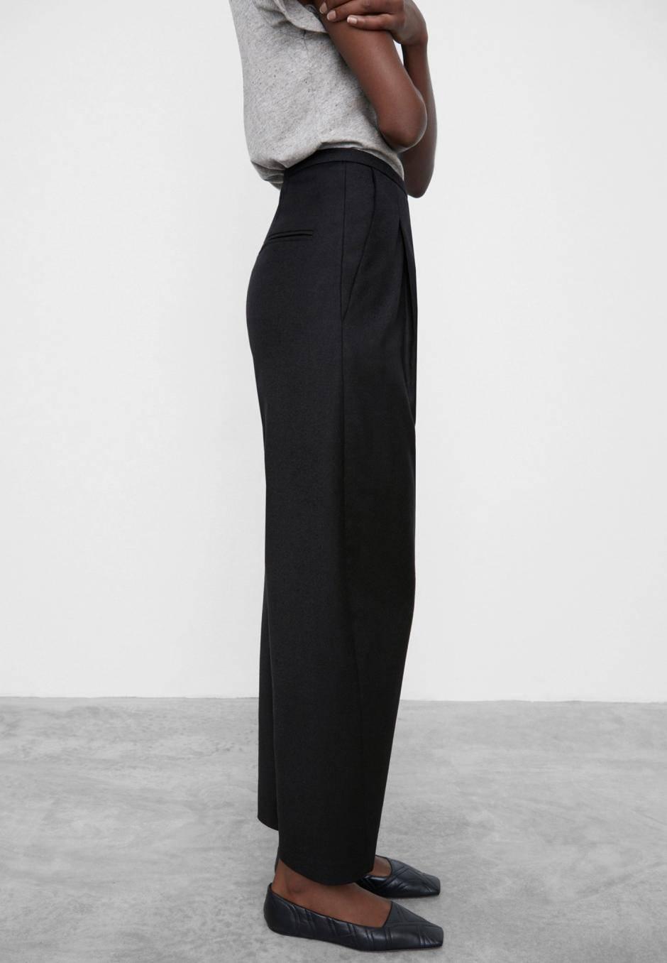 Totême Wool Flannel Trousers