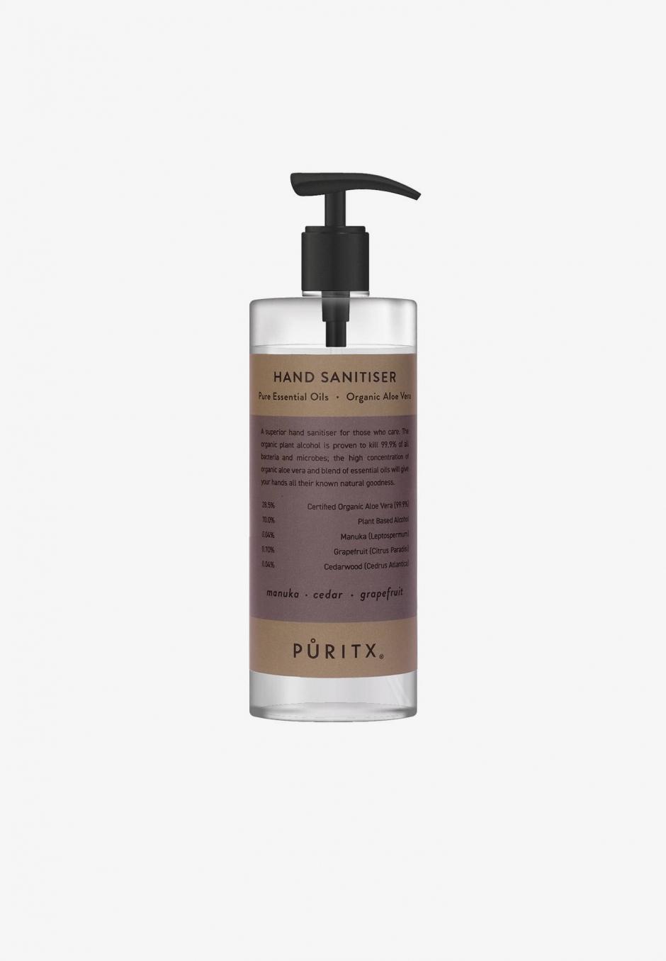 Puritx Hand Sanitiser 250 ml - Manuka/Cedar/Grapefruit