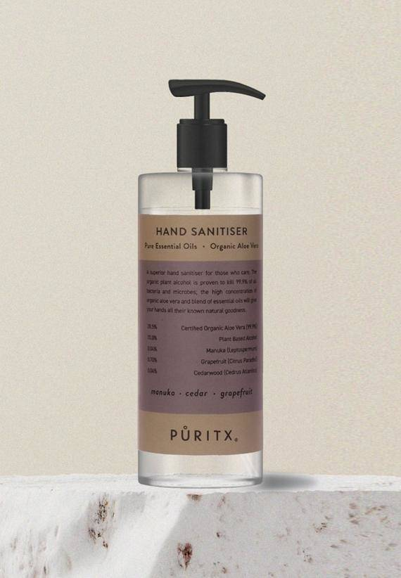 Puritx Hand Sanitiser 250 ml - Manuka/Cedar/Grapefruit