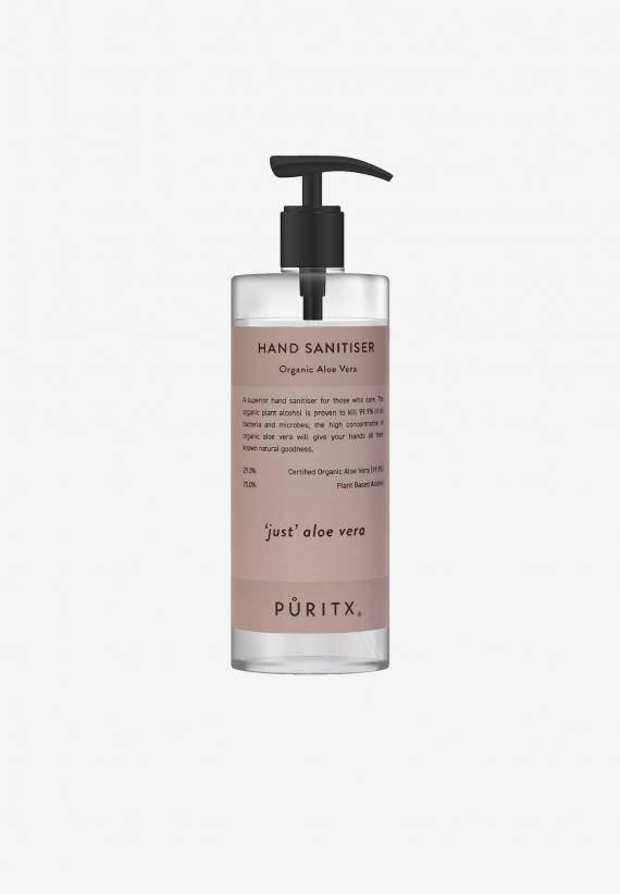 Puritx Hand Sanitiser 250 ml - 'Just' Aloe Vera