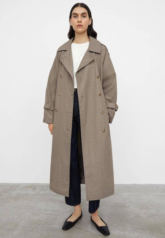 Totême Techno Cotton Trench