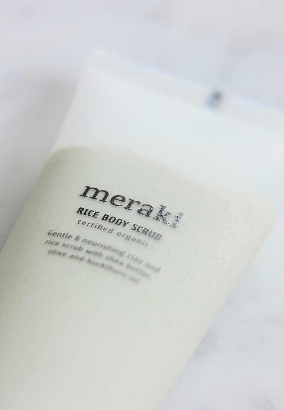 Meraki Body Scrub Rice