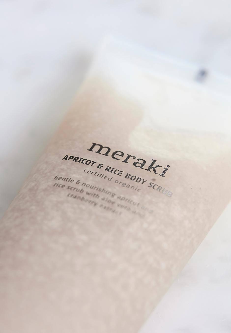 Meraki Body Scrub Apricot & Rice