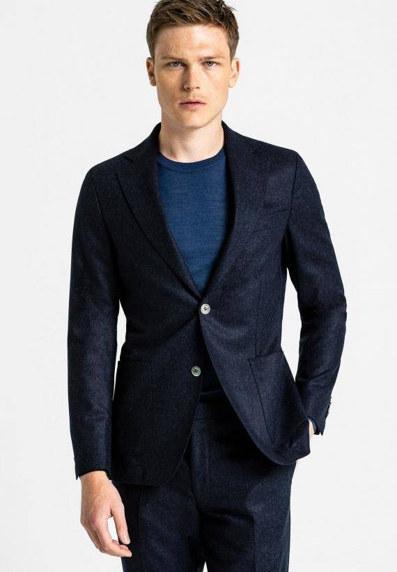 Oscar Jacobson Egel Patch Blazer