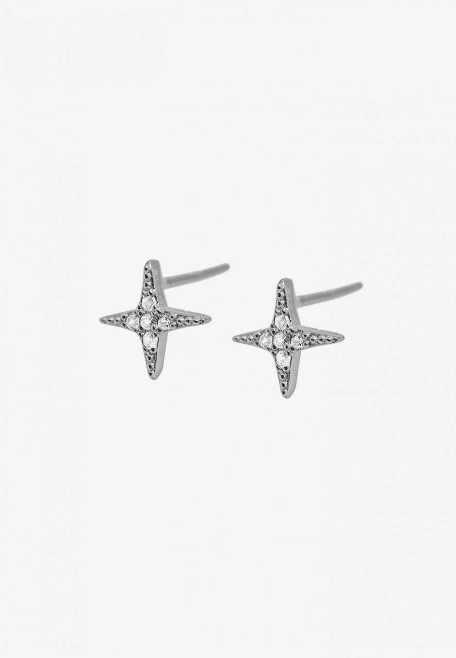Wos Norrsken Earrings Silver