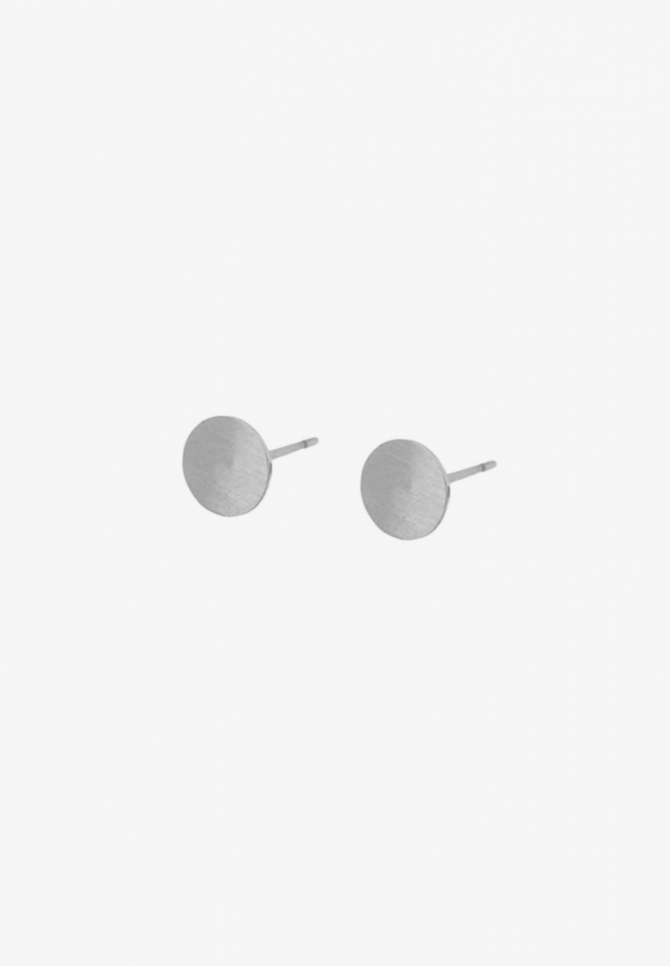 Wos Flat Studs Silver