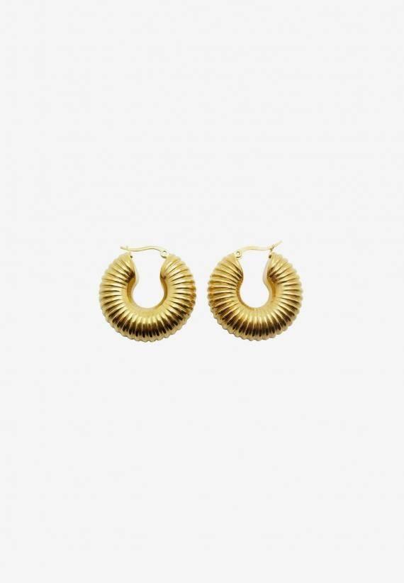 Wos Dallas Earrings Guld