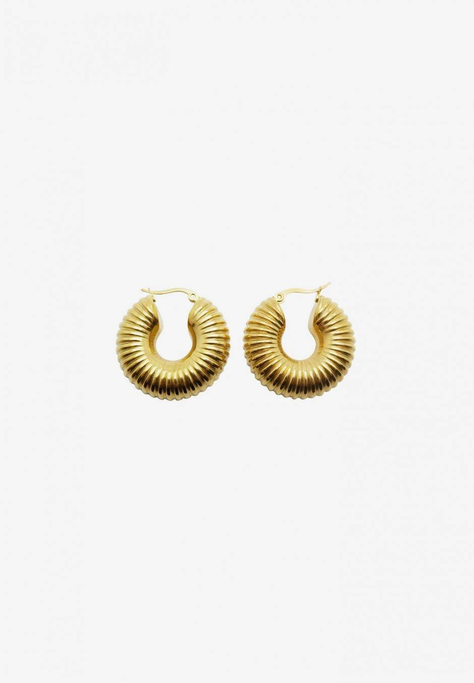 Wos Dallas Earrings Guld