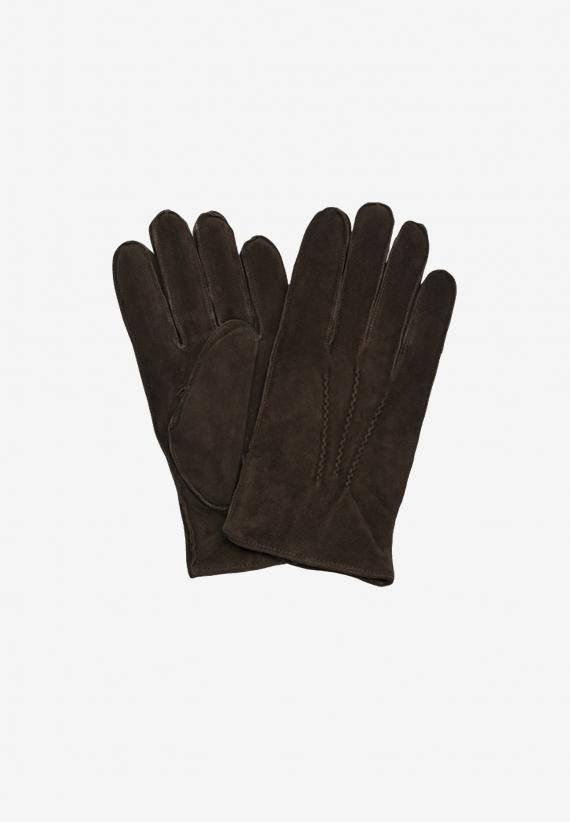 Amanda Christensen Mens Gloves Suede
