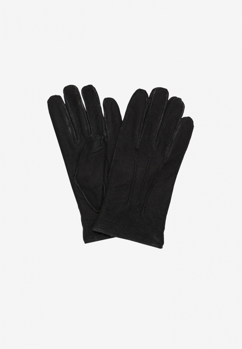 Amanda Christensen Mens Gloves Suede