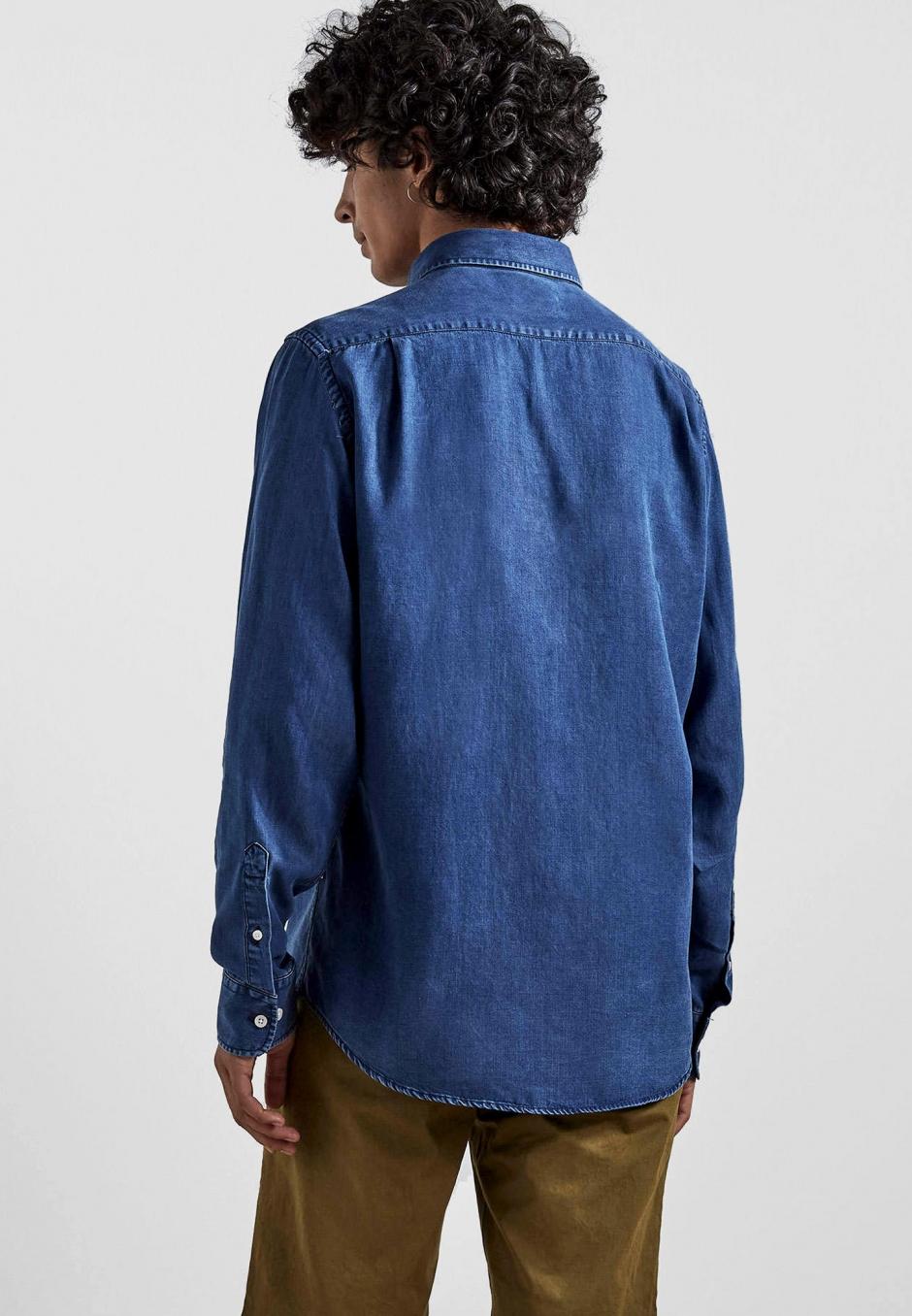 NN07 Manza Slim 5767 Tencel Shirt