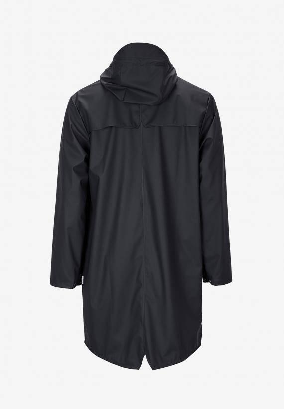 Rains Long Jacket Svart