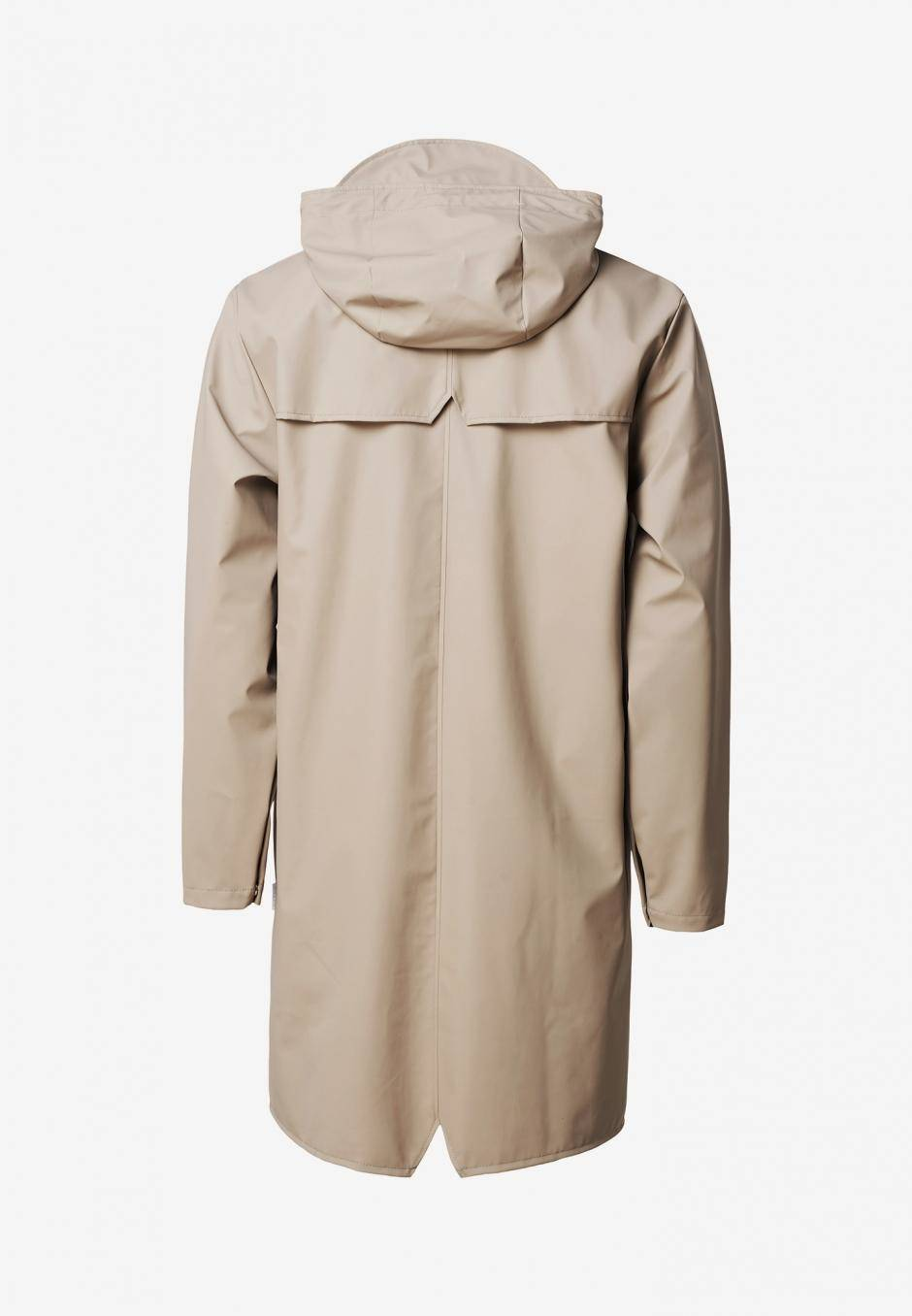 Rains Long Jacket Beige