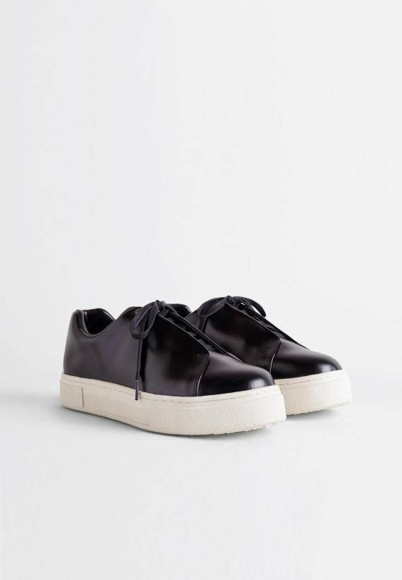 Eytys Doja Leather Black
