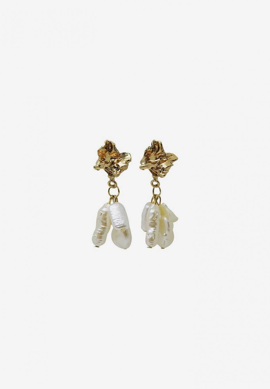Wos Pearl Drops Earrings