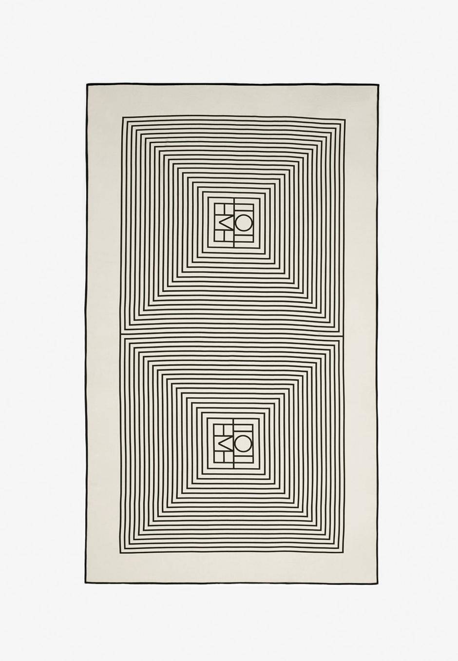 Totême Monogram Silk Sarong