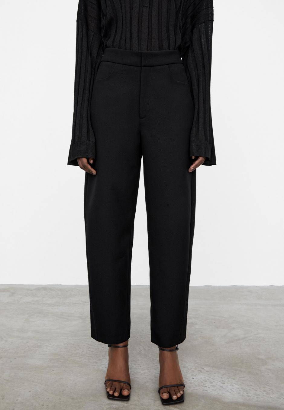 Totême Twisted Seam Trousers