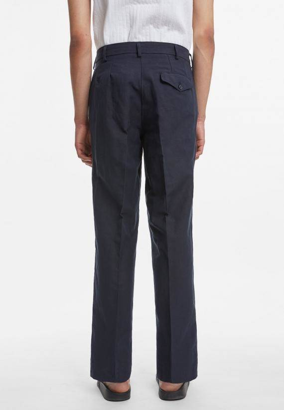 Schnayderman's Tailored Trousers Cotton Linen Wide