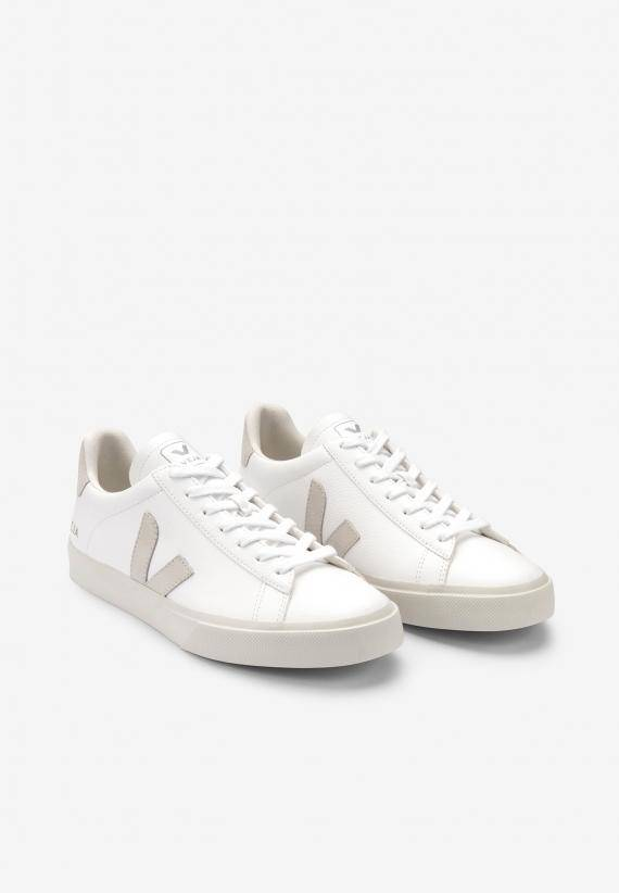Veja Man Campo Chromefree Leather White Natural
