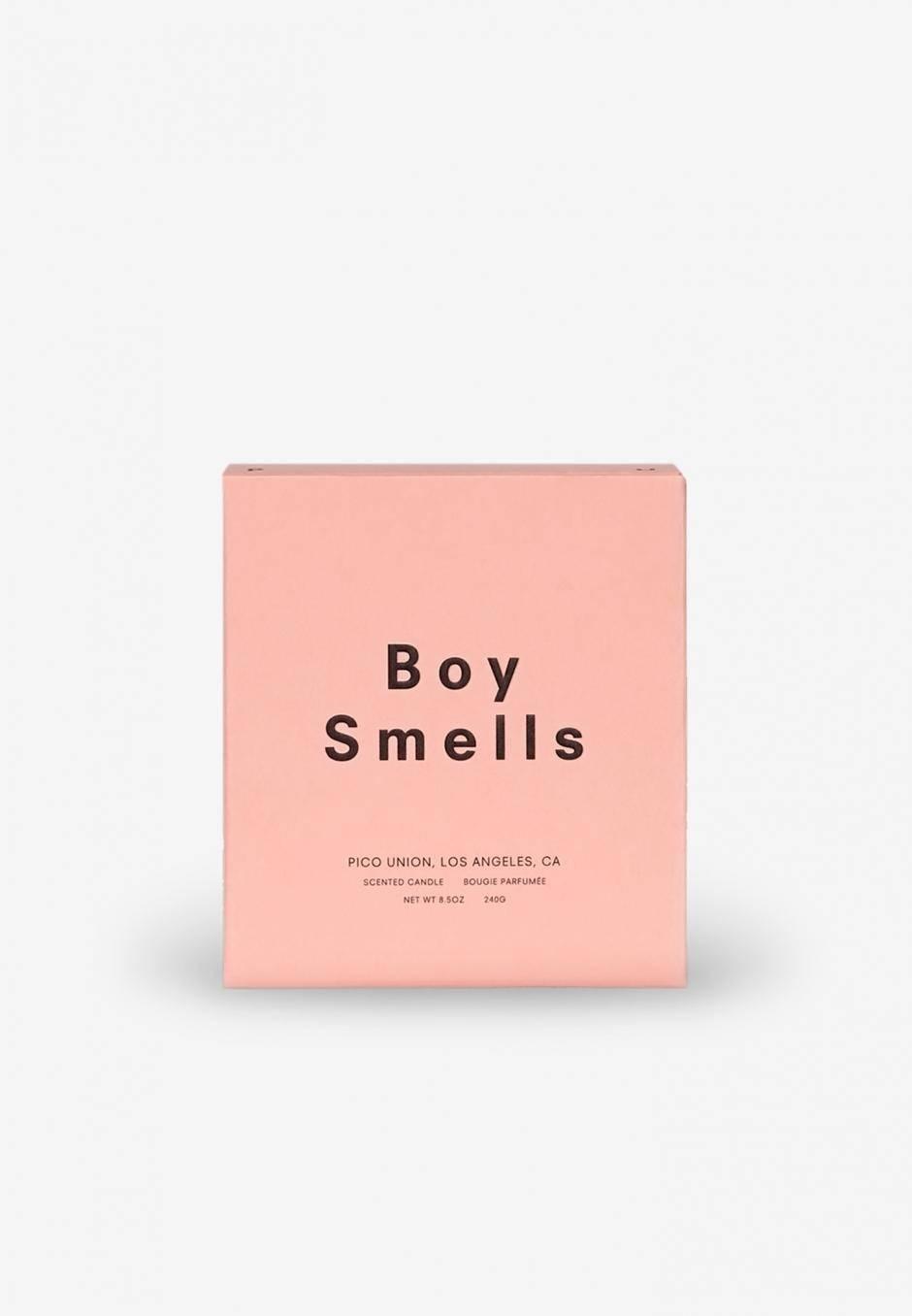 Boy Smells Les Candle