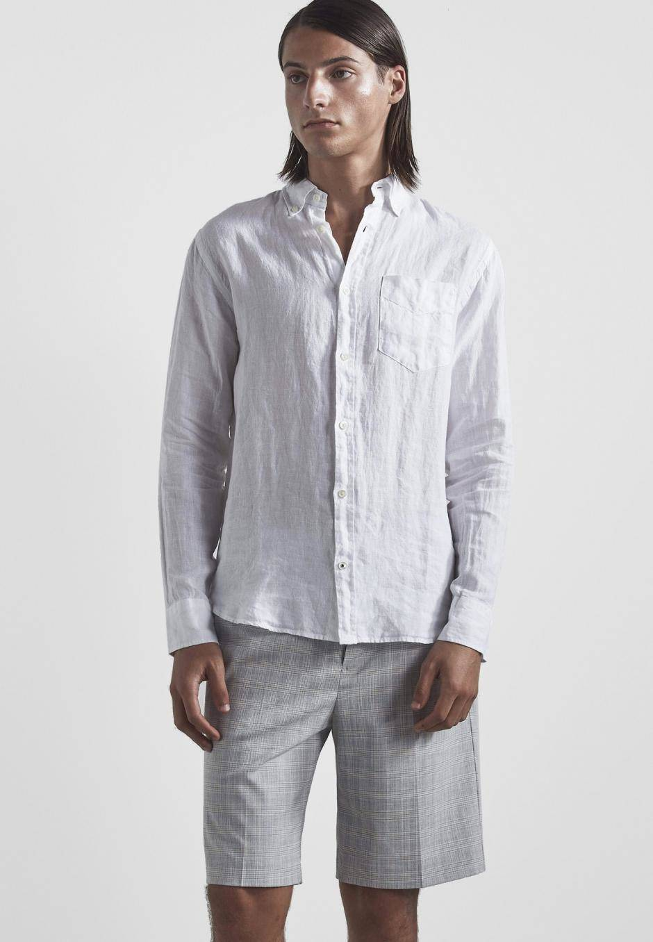NN 07 Levon Shirt 5706 Linen