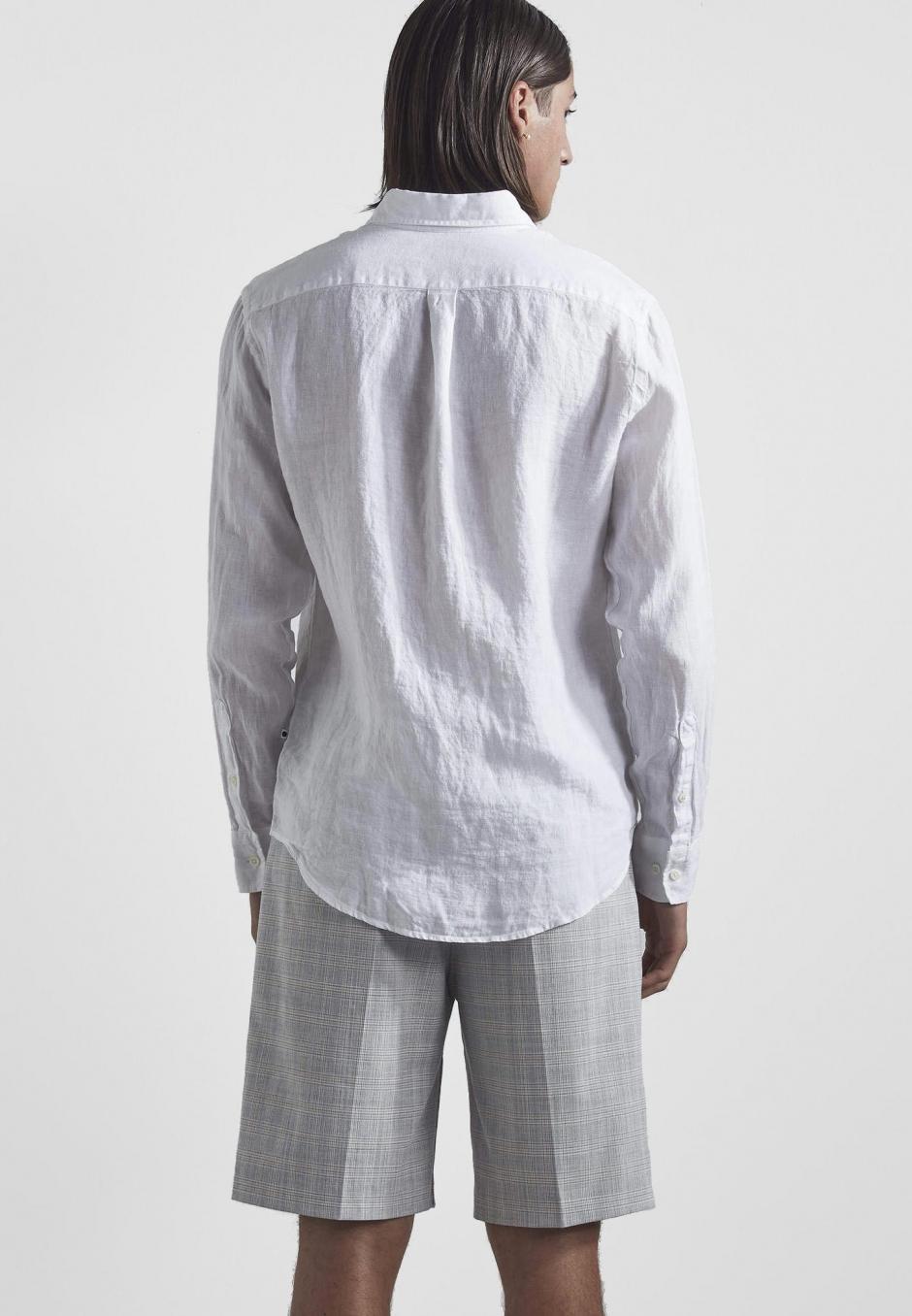 NN07 Levon Shirt 5706 Linen