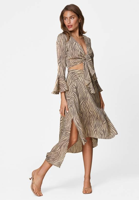 Adoore Riviera Dress Zebra
