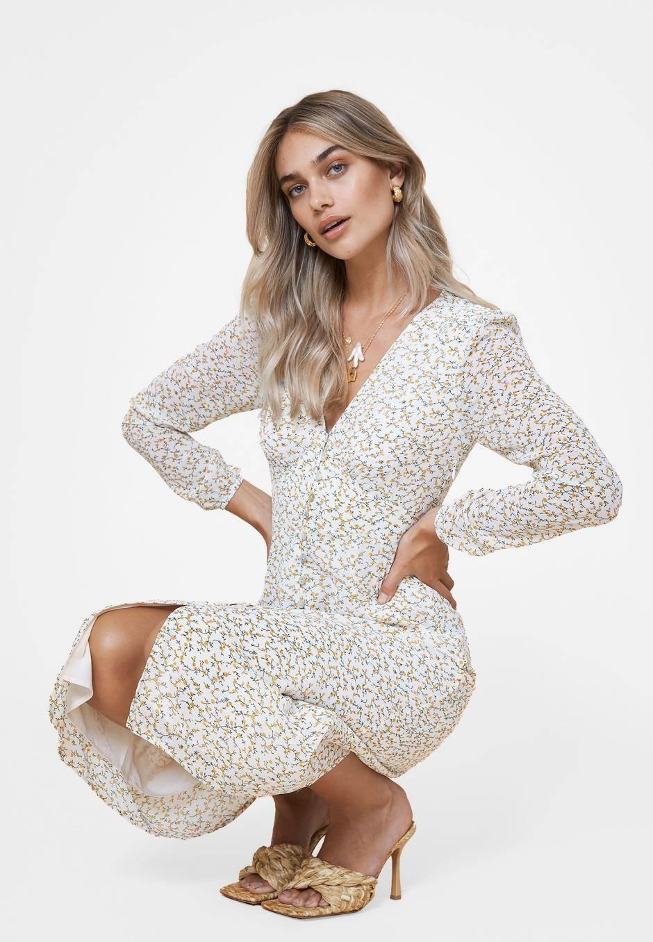 Adoore Paris Dress Lemon