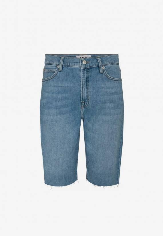 Ivy Mia Denim Shorts Wash Lima