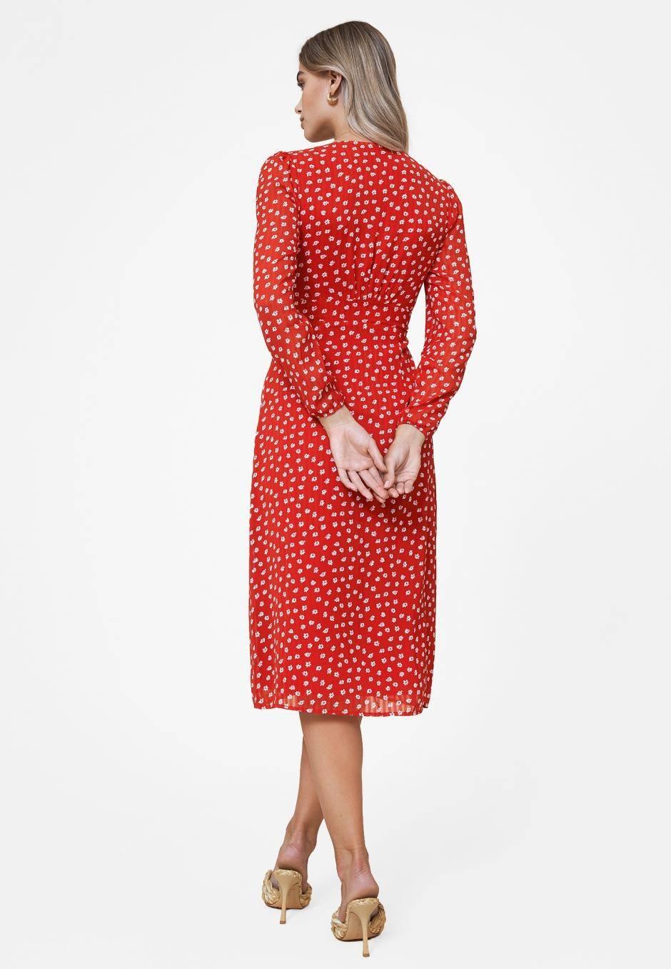 Adoore Paris Dress Red