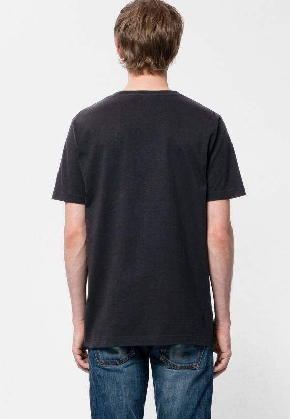 Nudie Jeans Daniel Logo Tee Black
