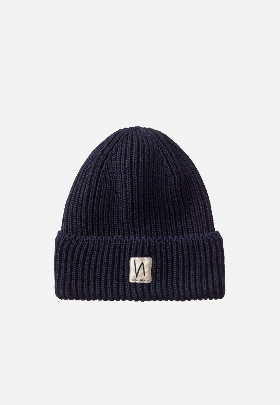 Nudie Jeans Tysson Ribbed Beanie Navy