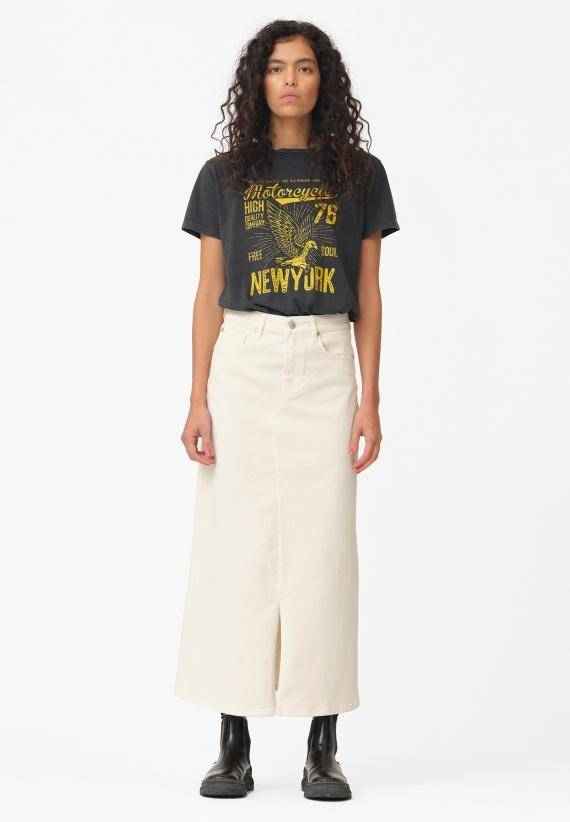 Ivy Zoe Long Skirt Ecru