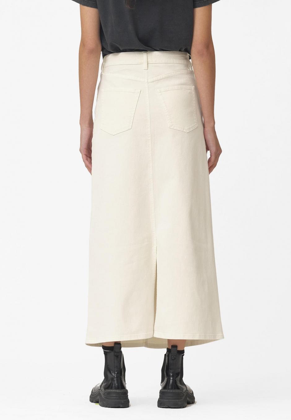 Ivy Zoe Long Skirt Ecru