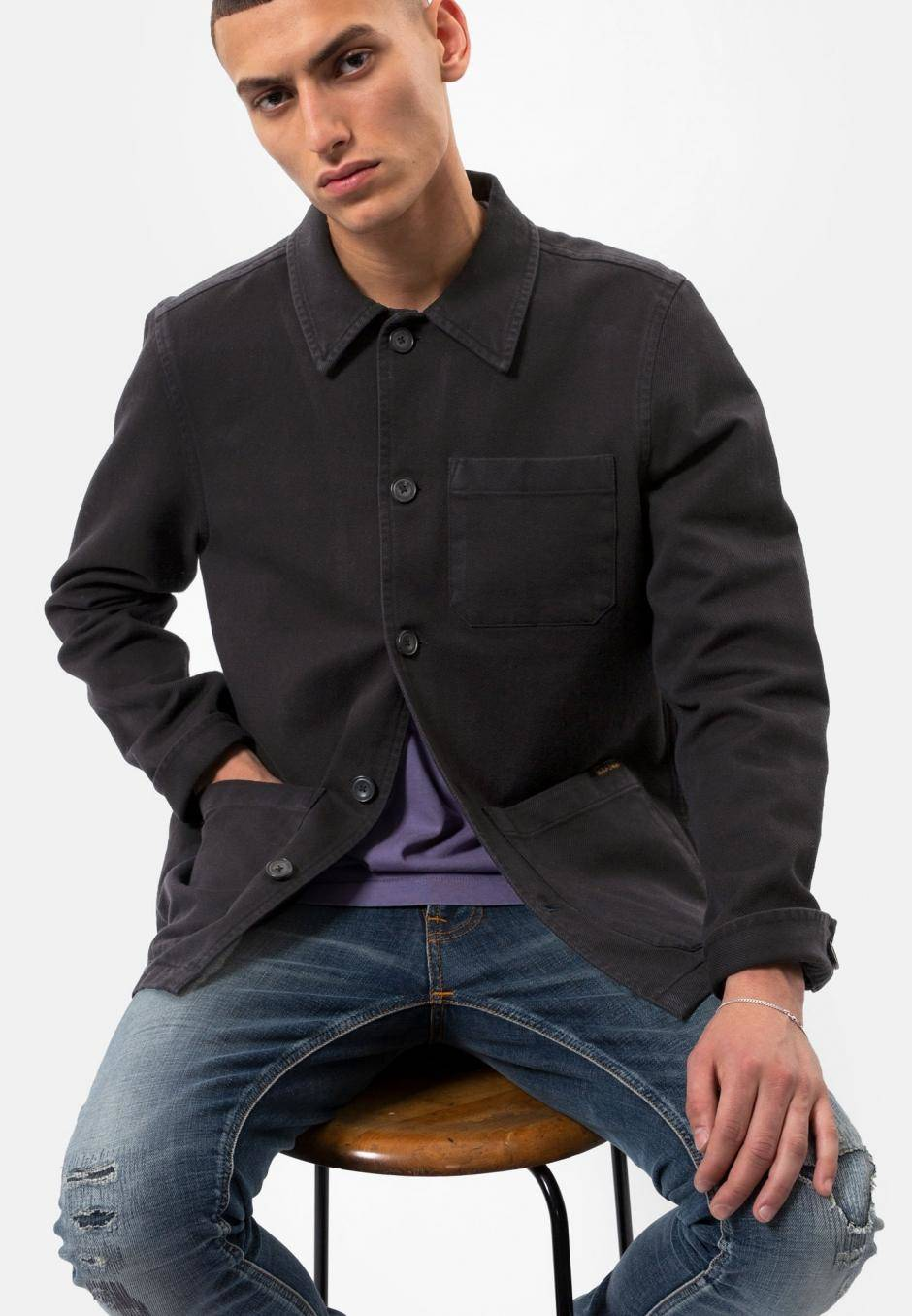 Nudie Jeans Barney Worker Jacket