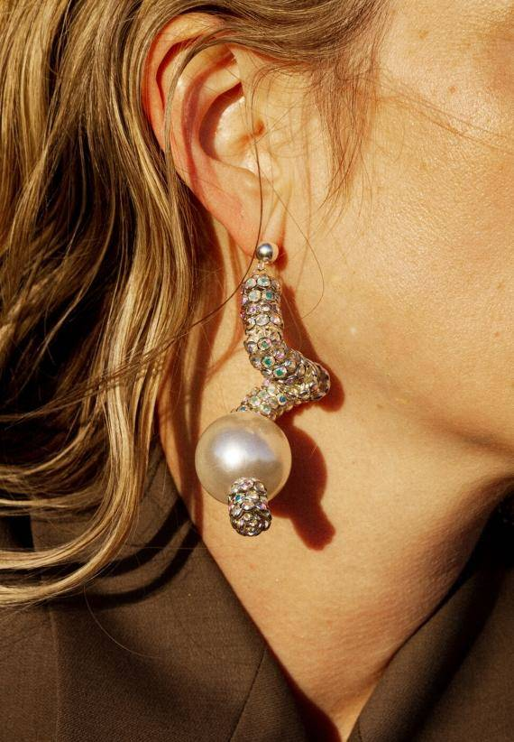 Pearl Octopuss.y Silver Diamond Snakes