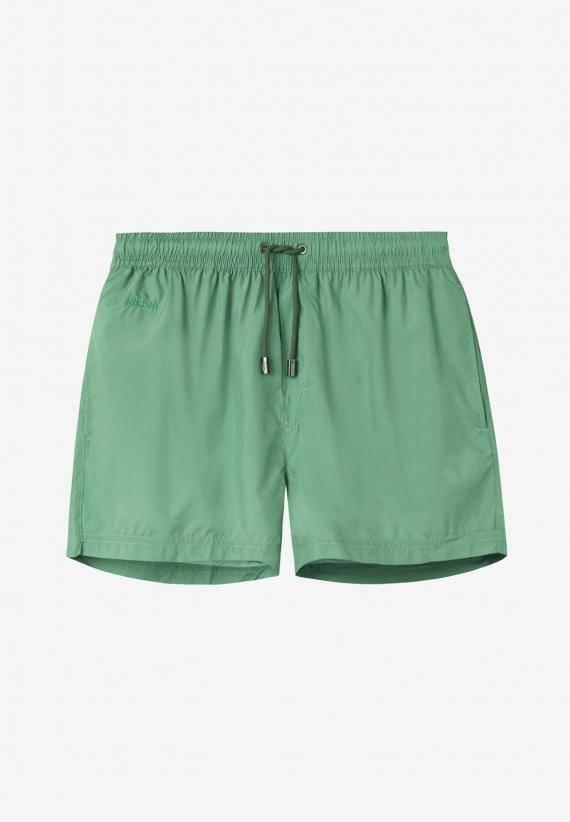 Nikben Plain Swimshorts Olive