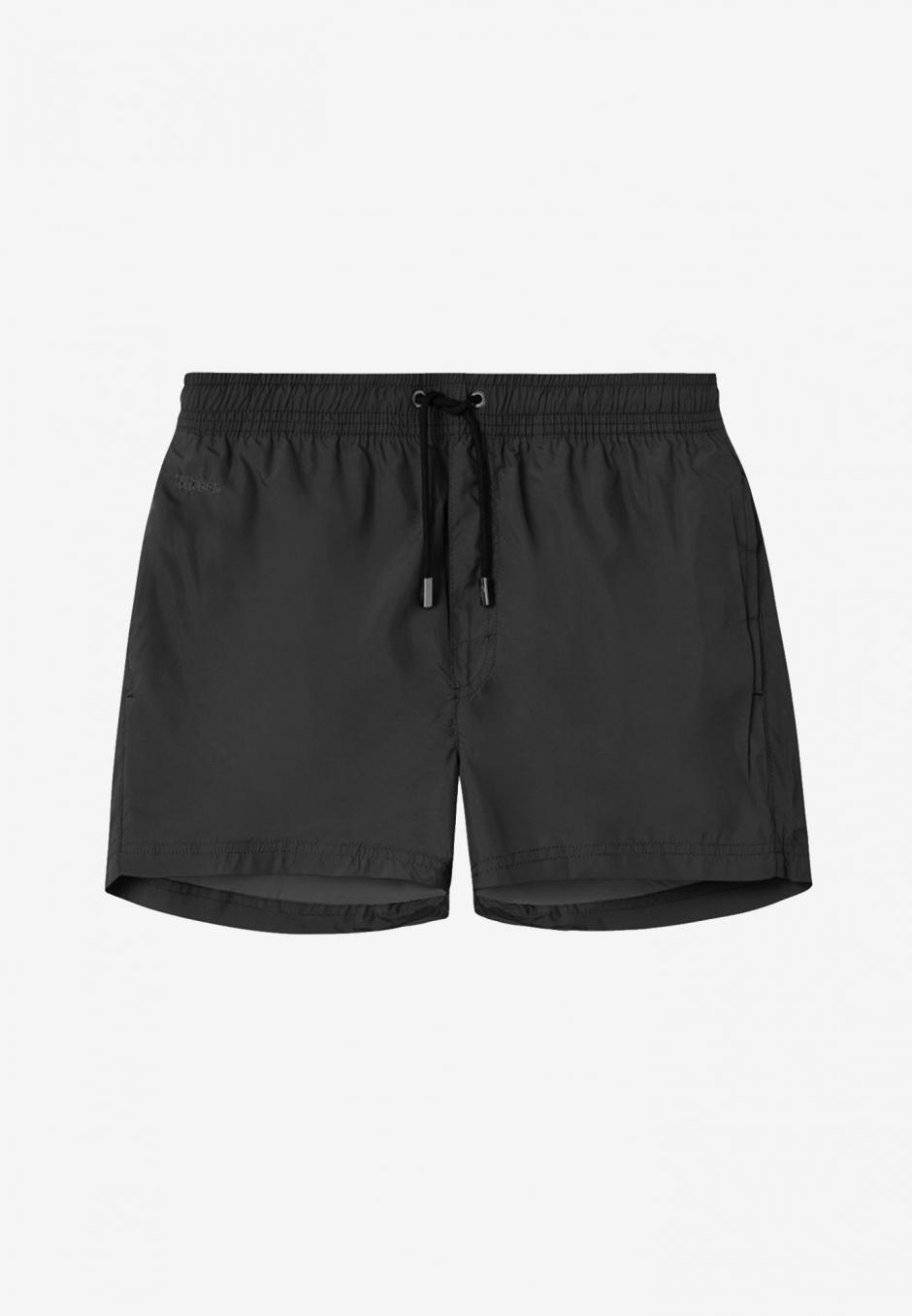 Nikben Plain Swimshorts Black