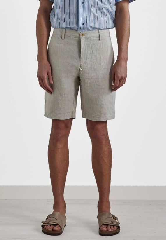 NN07 Crown 1196 Linen Shorts