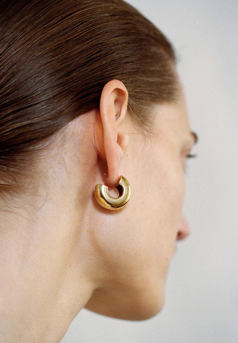 All Blues Tire Earrings