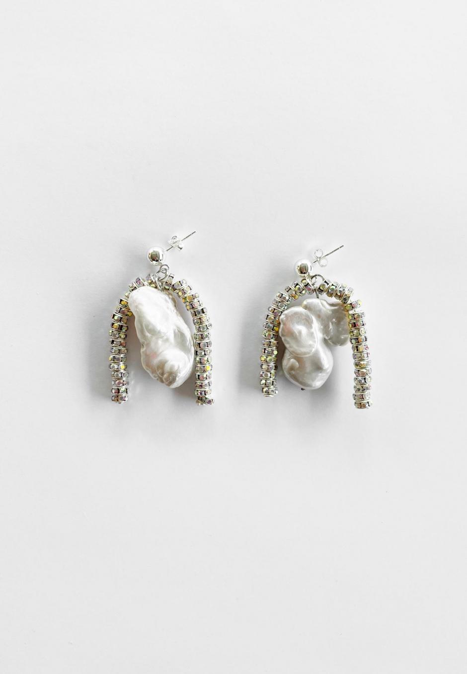 Pearl Octopuss.y Paris Baroque Earrings