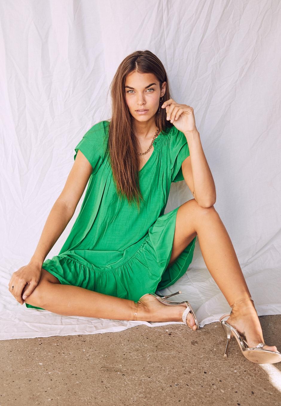 Co'couture Sunrise Crop Dress