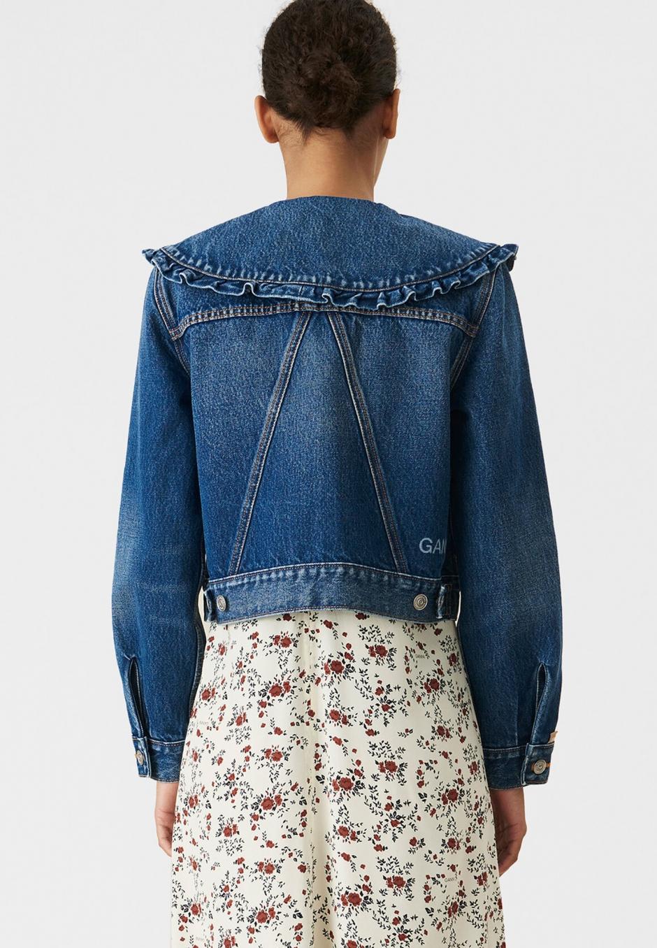 Ganni Organic Cotton Denim Jacket