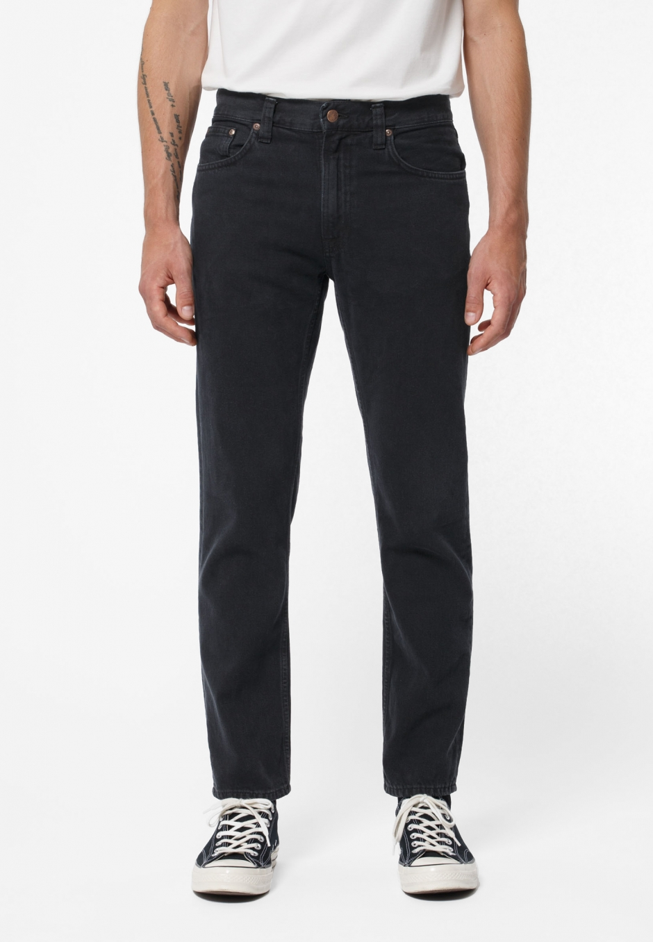 Nudie Jeans Gritty Jackson Black Forest