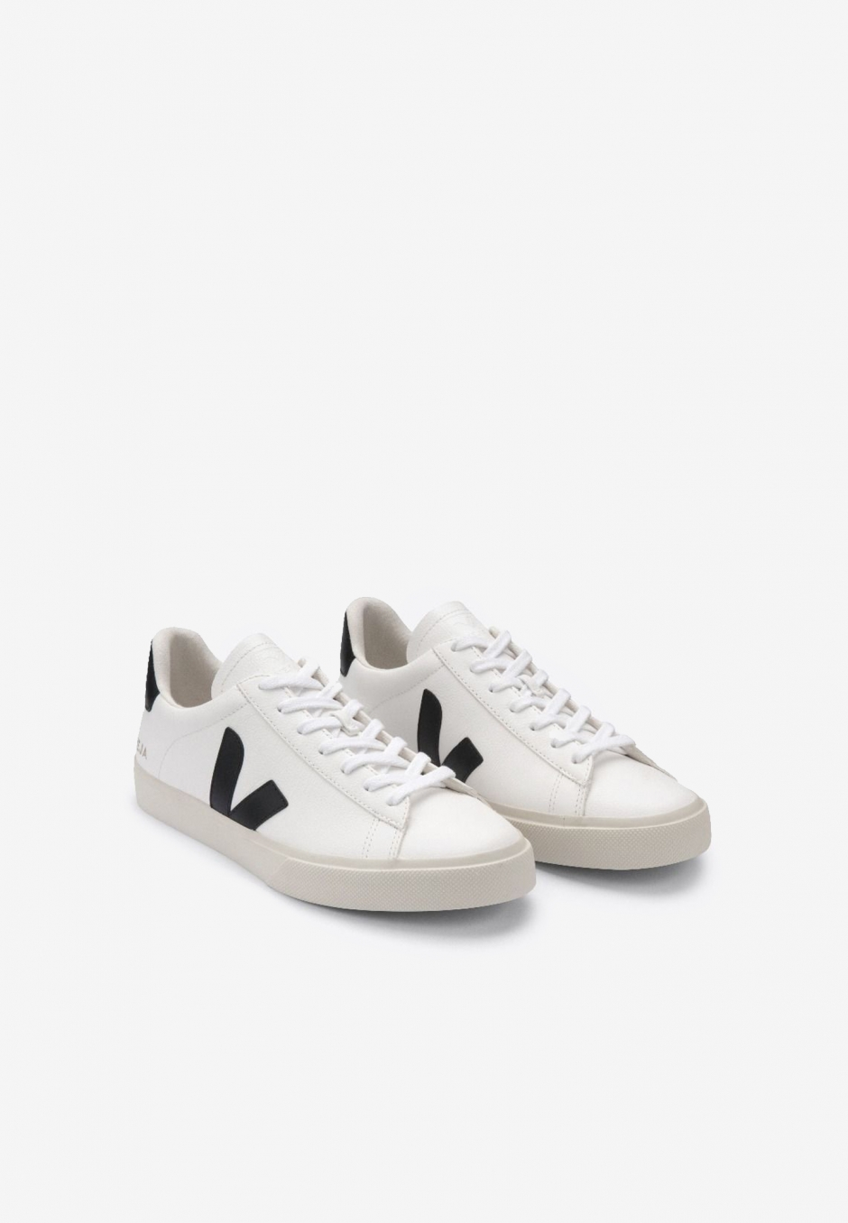 Veja Wmn Campo Chromefree Leather Extra White/Black