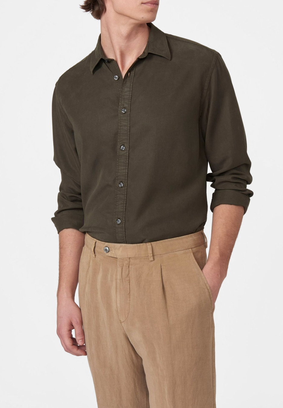 Oscar Jacobson Hardy Slim Shirt